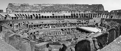 Photograph - Eoman Colosseum From Side  by John McGraw