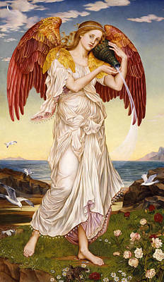 Warrior Goddess Painting - Eos by Mary Evelyn Pickering De Morgan