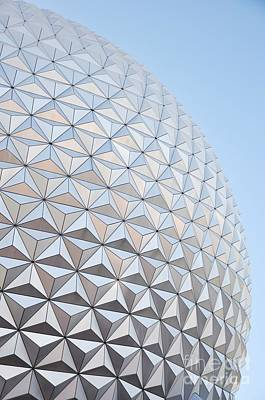 Photograph - Epcot  by Rose  Hill