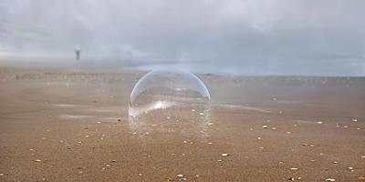 Ephemera Bubble  Art Print