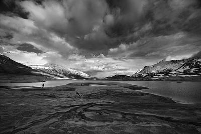 Alpine Photograph - Ephemeral Desert by Marco Barone
