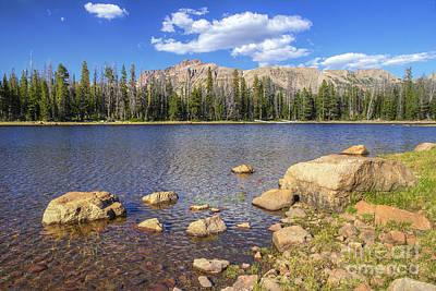 Photograph - Ephemeral Lake by Spencer Baugh