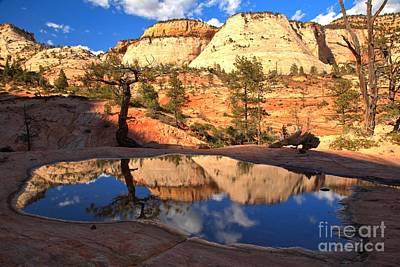 Photograph - Ephemeral Reflections by Adam Jewell