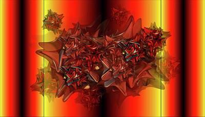 Digital Art - Ephemeral by Ron Bissett