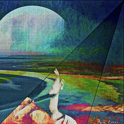 Digital Art - Ephemere by Karo Evans