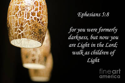 Photograph - Ephesians 5 by Dale Powell