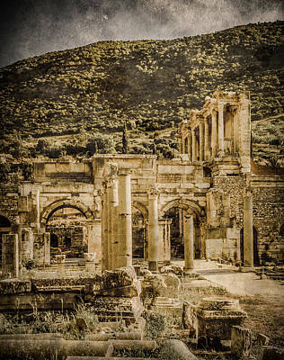 Photograph - Ephesus, Turkey - Celsus Library by Mark Forte