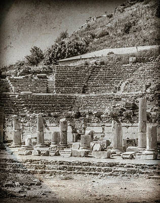 Photograph - Ephesus, Turkey - Theater by Mark Forte