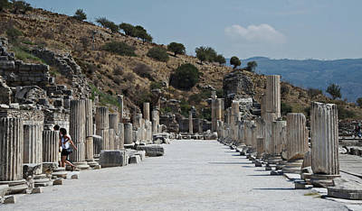 Photograph - Ephesus, Turkey by Cendrine Marrouat