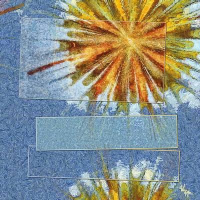 Epiblema Concrete Flower  Id 16163-233235-31521 Art Print