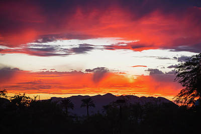 Photograph - Epic Scottsdale Sunset by Anthony Doudt