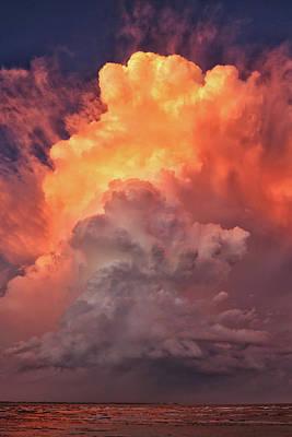 Epic Storm Clouds Art Print