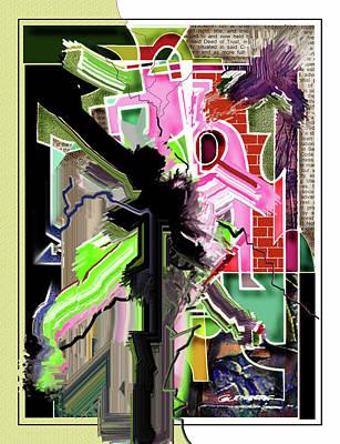 Epicenter Three-eleven Art Print