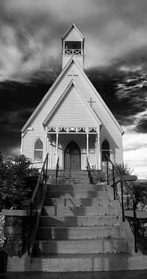 Photograph - Episcopal Church In Murphy North Carolina by Greg Mimbs