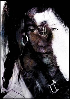 Welsh Goddess Photograph - Epona Goddess Of Horses by Peter Nolan
