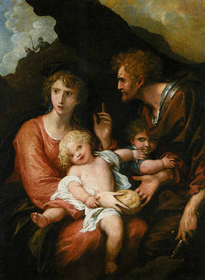Giving Painting - Epponia Giving Bread To Her Husband Sabinus by MotionAge Designs