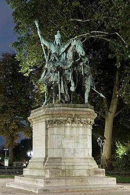 Photograph - Equestrian Statue Of Charlemagne by Hany J