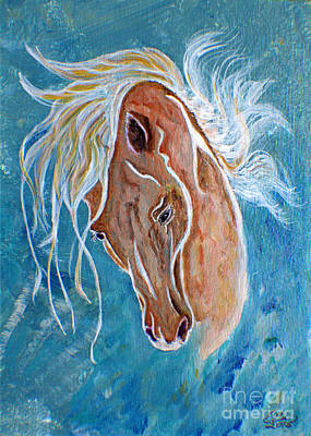 Painting - Equestrian Dreams by Ella Kaye Dickey