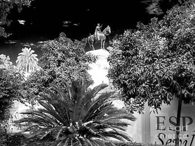 Photograph - Equestrian Statue To King Fernando IIi by John Rizzuto