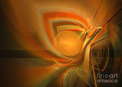 Digital Art - Equilibrium - Abstract Art by Sipo Liimatainen