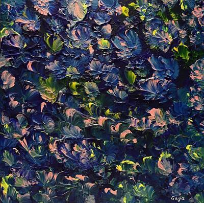 Abstract Painting - Equilibrium by Gaya Karapetyan