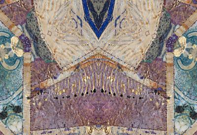 Digital Art - Equilibrium Kaleidoscope1 by Kate Word