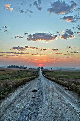 Photograph - Equinox Road by Bonfire Photography