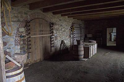 Equipment Room - Fortress Of Louisburg Art Print