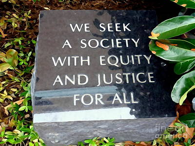 Digital Art - Equity And Justice by Ed Weidman