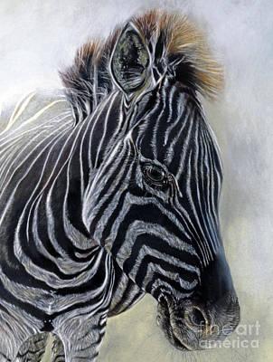 Equus Burchelli 1 Detail Art Print