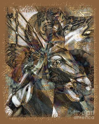 Equus Art Print by Chuck Brittenham