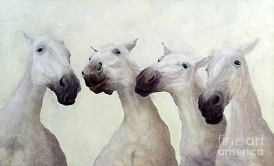 Painting - Equus Four  by Odile Kidd