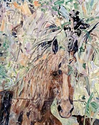 Painting - Equus Of The Oaks by Caroline Krieger Comings