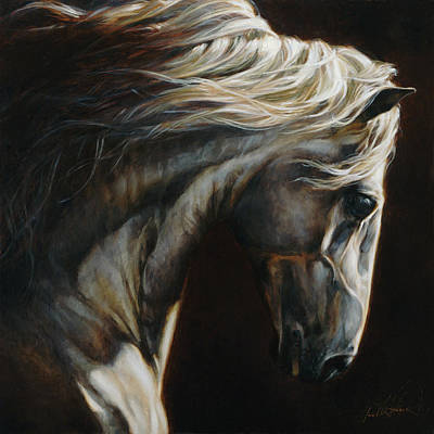 Equus Series I-iii Art Print by Heather Theurer
