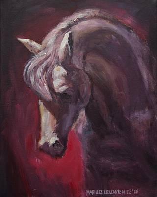 Painting - Eqvvs by Mariusz Loszakiewicz
