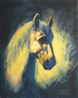 Painting - Eqvvs V by Mariusz Loszakiewicz