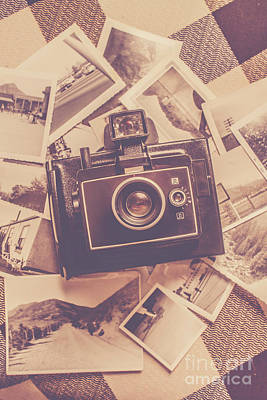 Polaroid Camera Photograph - Era Of Film Photography by Jorgo Photography - Wall Art Gallery