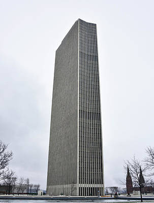Photograph - Erastus Corning Tower In Albany New York by Brendan Reals