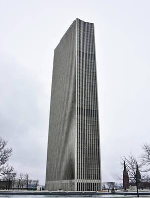 Photograph - Erastus Corning Tower In Albany New York by Brendan Reals