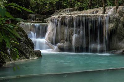 Photograph - Erawan Falls Fifth Falls  by Scott Cunningham