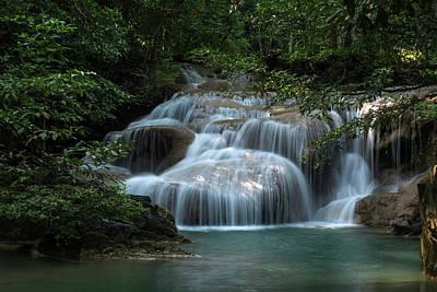 Photograph - Erawan Falls First Falls by Scott Cunningham