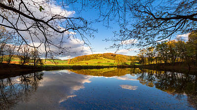 Photograph - Erdfallsee, Harz by Andreas Levi