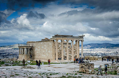 Photograph - Erechtheion Of The Acropolis by Debra Martz