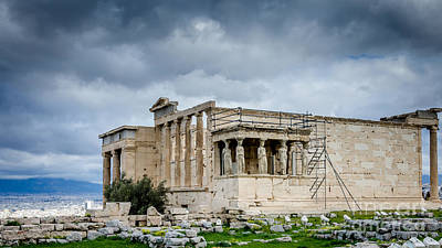 Photograph - Erechtheion - Porch Of The Maidens by Debra Martz