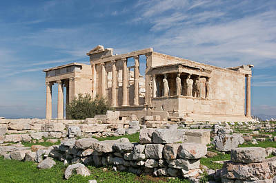 Photograph - Erechtheum Acropolis Athens by Jebulon