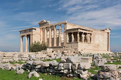 Photograph - Erechtheum Acropolis Athens by Jebulon