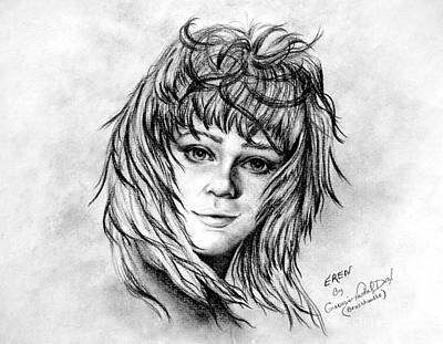 Drawing - Eren by Georgia's Art Brush