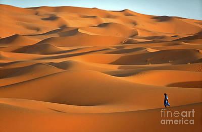 Erg Chebbi Desert Art Print