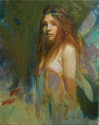 Painting - Erialle by Fredric Michael Wood