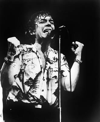 Eric Burdon In Concert Art Print